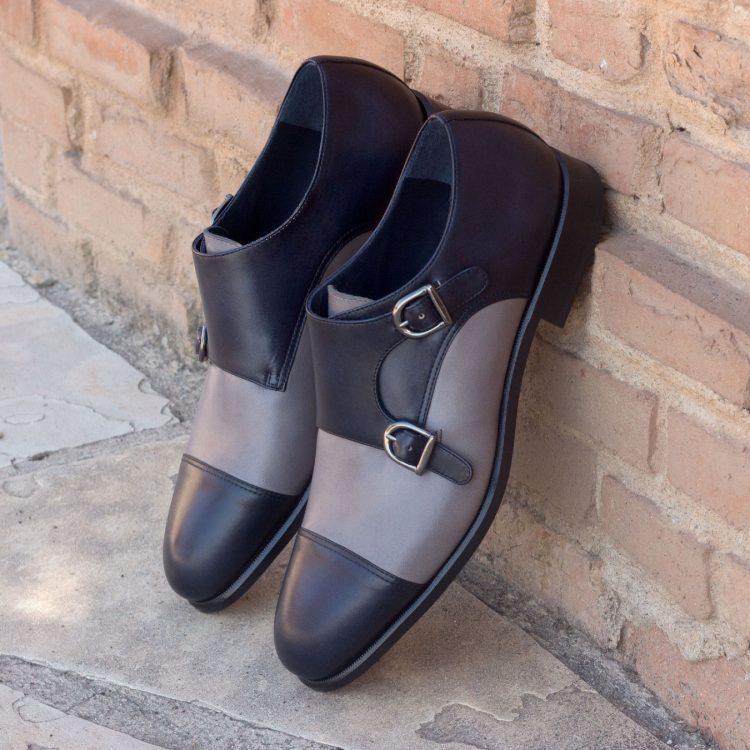 alain dada Black&Grey wedding shoes